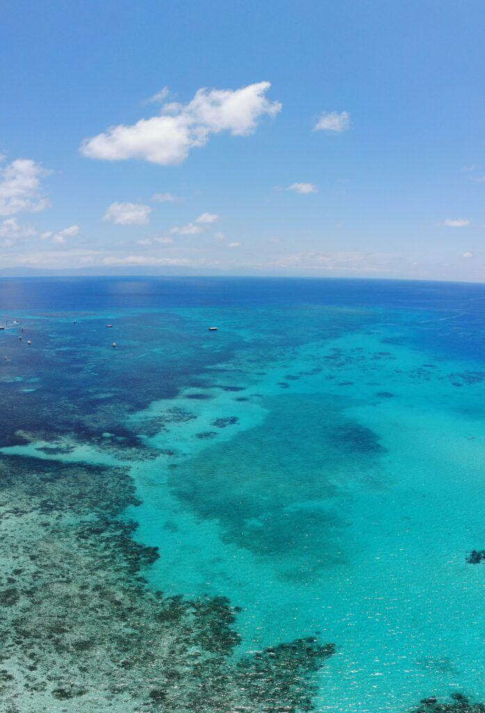 wisata dan belajar di cairns - great barrier reef