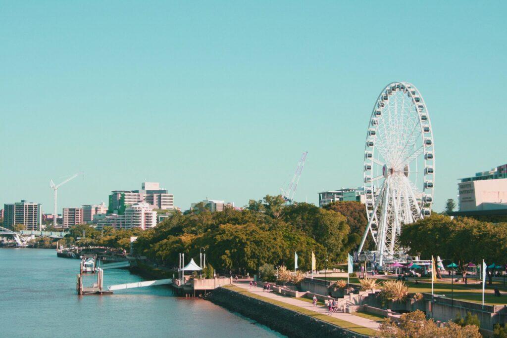 Jalan-jalan Minggu Pagi ke South Bank Brisbane Bersama Keluarga
