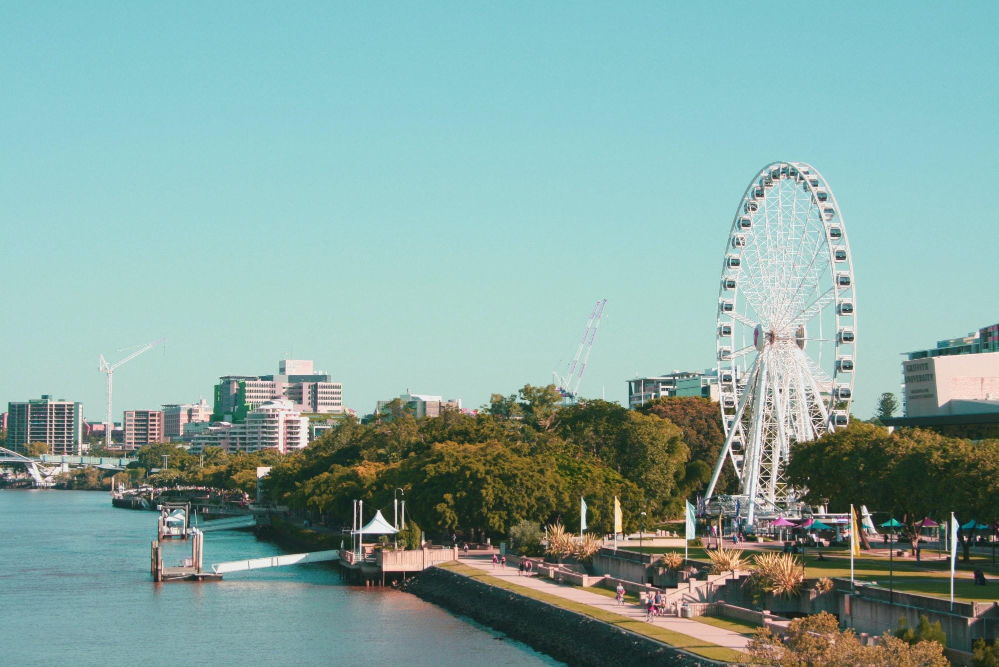 South Bank Brisbane: Jalan-jalan Minggu Pagi Bersama Keluarga