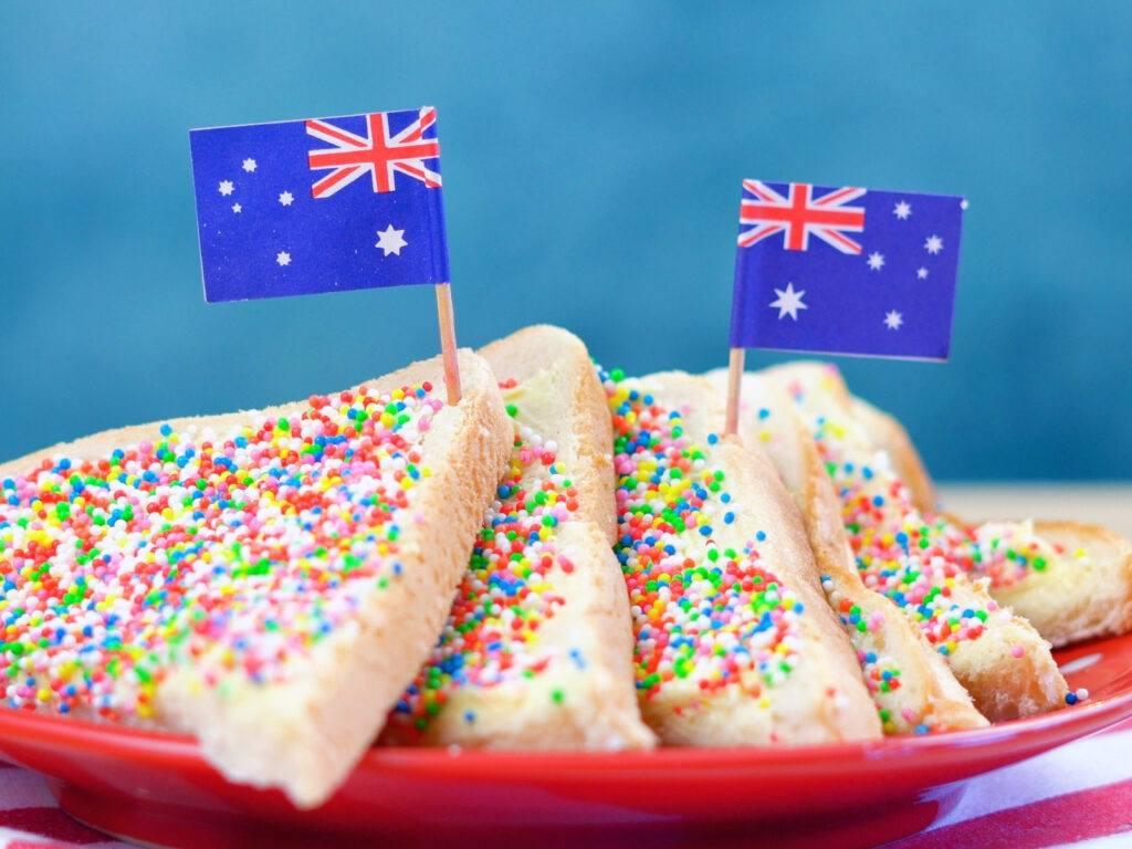 what is australian fairy bread