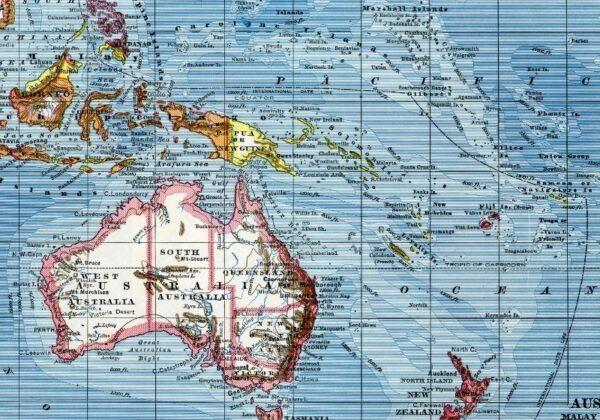 Posisi dan Batas Benua Australia - Mengenal Australia