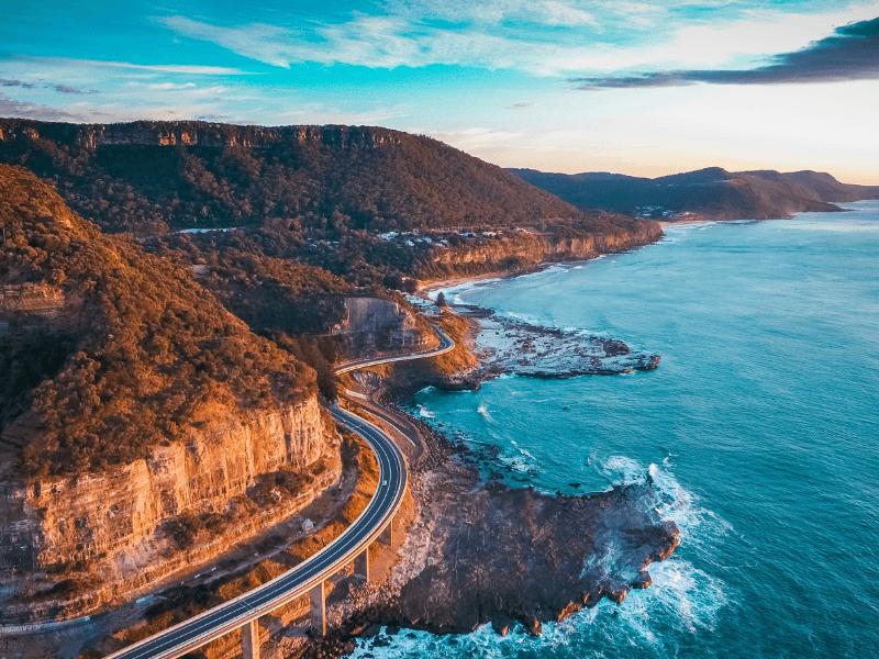 Sea Cliff Bridge, Sydney, NSW