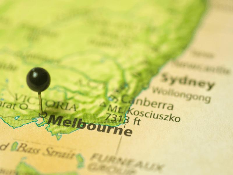 Jarak Sydney ke Melbourne