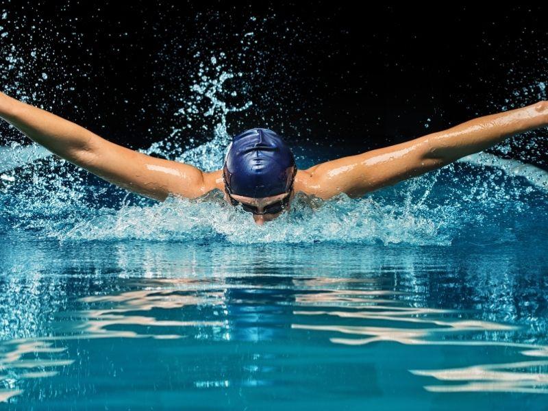 speedo australian swimwear boomerang logo