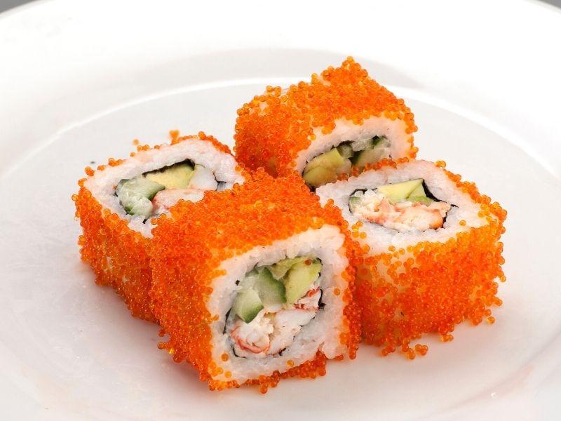 crab sticks sushi