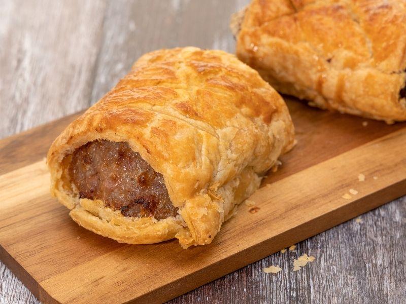 pie crust sausage rolls