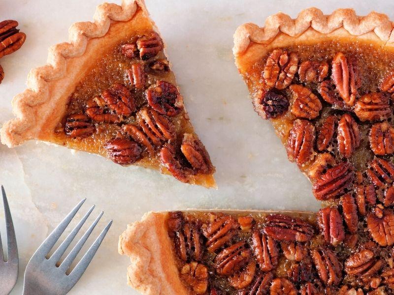 types of non fruit pies pecan pie